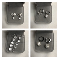 Used Bundle offer 925 silver earrings  in Dubai, UAE