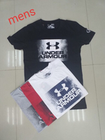 Used Under Armour T-shirt Large 4 pieces  in Dubai, UAE