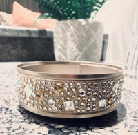 Used Gems And Glitter 3 wick Candle Holder in Dubai, UAE