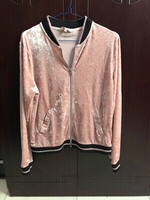 Beautiful light pink Velvet jacket.