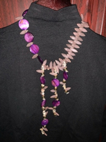 Used Purple necklace  in Dubai, UAE