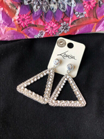 Used Lovisa crystal earring from accessories  in Dubai, UAE