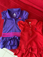 Used 2 babies branded dresses adidas and polo in Dubai, UAE