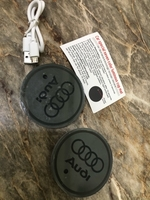 Used Audi logo 2pc in Dubai, UAE