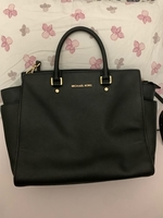 Used Original Michael kors black bag  in Dubai, UAE