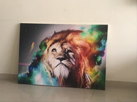 Used Painting of a lion in Dubai, UAE