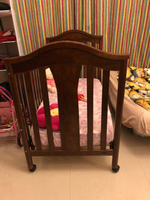 Used Juniors Arthur baby crib with mattress  in Dubai, UAE