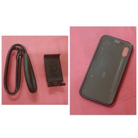 Used Mobile phone holder + iPhone mobile case in Dubai, UAE