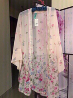 Used Floral Chiffon Kaftan New in Dubai, UAE
