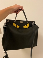 Used Women handbag, black  in Dubai, UAE