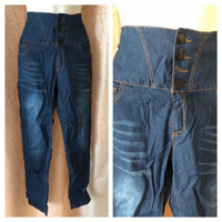 Used High waist jeans ladies size L in Dubai, UAE