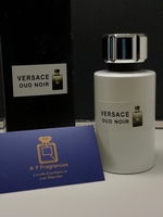 Used Versace oud noir unisex perfume 100ml  in Dubai, UAE