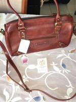 Used Italy brand genuine leather handbag  in Dubai, UAE