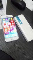 Used iPhone 6s 64+ ibrit powerbank  in Dubai, UAE