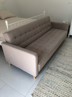Used Sofa bed. From Jysk, 9 month old in Dubai, UAE