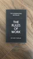 The Rules of Work by Richard Templar!!