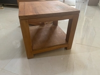 Used Solid wood tables from west elm  in Dubai, UAE