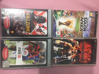 Used 4 PSP games including fifa 10 original  in Dubai, UAE