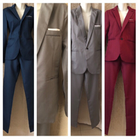 4 men suits bundle all new