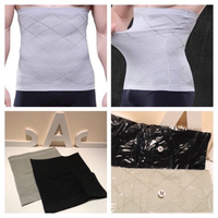 Used Bodyshaper men size M black/grey 4 pcs in Dubai, UAE
