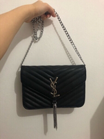 Used YSL black purse  in Dubai, UAE