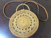 Used Rattan bag from Bali Island, Indonesia in Dubai, UAE