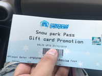 Used Ski Dubai Snow Park Tickets in Dubai, UAE