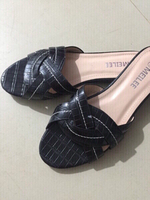 Used faux leather flats in Dubai, UAE