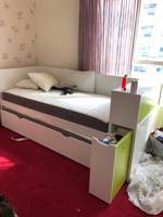 Used bed room set for 4beds with mattress in Dubai, UAE