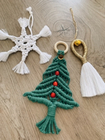 Used Christmas decoration (handmade)  in Dubai, UAE