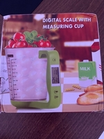 Used Digital scale with Measuring Cup in Dubai, UAE