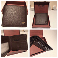 Used New wallet with box brown in Dubai, UAE