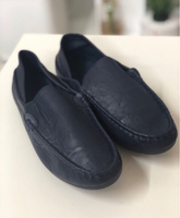 Used Leather Blue Mocassin and Loafers/44 in Dubai, UAE