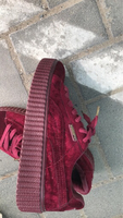 Used FENTY Puma Shoes x Rihanna (Burgundy)  in Dubai, UAE