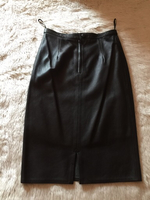 Used Size 38 / Genuine Leather Skirt in Dubai, UAE