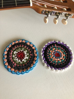 Used Beautiful Handmade Crochet Mandalas 9pcs in Dubai, UAE