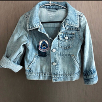 Used Denim jacket from gap for 18-24 months  in Dubai, UAE