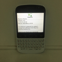 Used Blackberry 9720 white  in Dubai, UAE