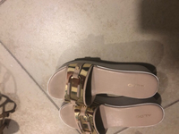 Used Aldo white wedge sandals in Dubai, UAE
