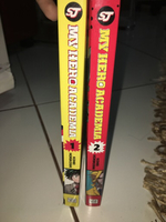 Used The first 2 volumes of(my hero academia) in Dubai, UAE