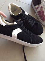 Used suede sneakers in Dubai, UAE