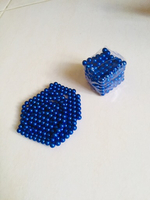 Used Bundle 4 magnetic balls blue gold  in Dubai, UAE