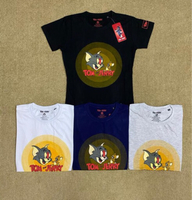 Used T-shirt 4 pcs cartoon Large ladies in Dubai, UAE