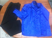 Used Party formal Boys Solid Shirt and Pant in Dubai, UAE