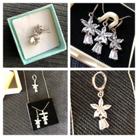 Used Necklace & earrings & studs  in Dubai, UAE