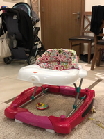 Used Baby Rocker and Walker - sanitized in Dubai, UAE