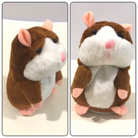 New 2Pcs Talking Hamsters Toy