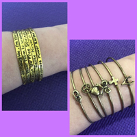 Used Statement Bangles/ Stacker Bracelets  in Dubai, UAE