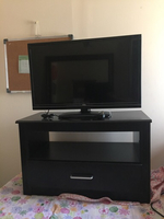 "Used LED TV ""32"" with Wooden Stand  in Dubai, UAE"