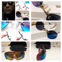 Used 2 sunglasses clip+polarized  in Dubai, UAE